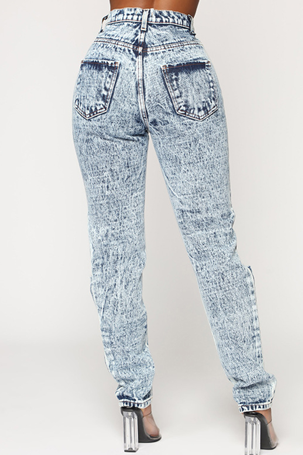 Lovely Trendy Basic Grey Jeans