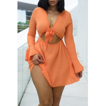 Lovely Casual Off The Shoulder Croci Mini A Line Dress