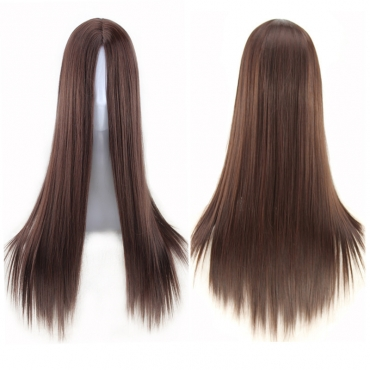 Lovely Stylish Hign-temperature Resistance Brown Wigs