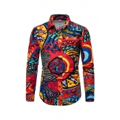 Lovely Casual Printed Multicolor Shirts