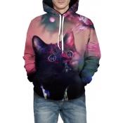 Lovely Trendy Printed Multicolor Hoodies