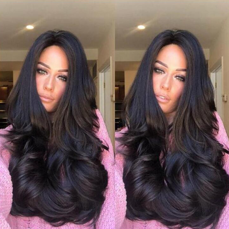 Lovely Casual Big Curly Black Wigs