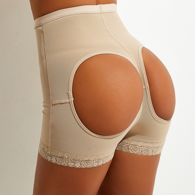 Lovely Sexy Hollow-out Apricot Panties