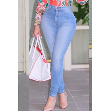 Lovely Work Skinny Baby Blue Jeans
