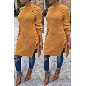 Lovely Trendy Bandage Design Croci Sweater