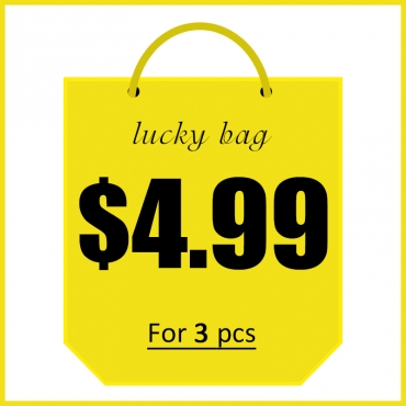 Lovely Lucky Bag - 3 pcs Random Products - Up to 90% off