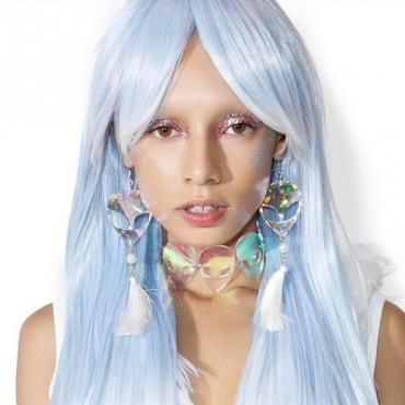 Lovely Trendy Tassel Design Multicolor Earring