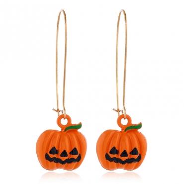 Lovely Chic Pumpkin Croci Earring
