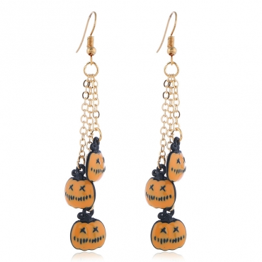 Lovely Chic Pumpkin Yellow  Earring