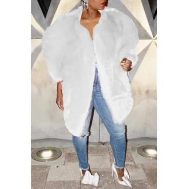 Lovely Sweet Winter White Coat