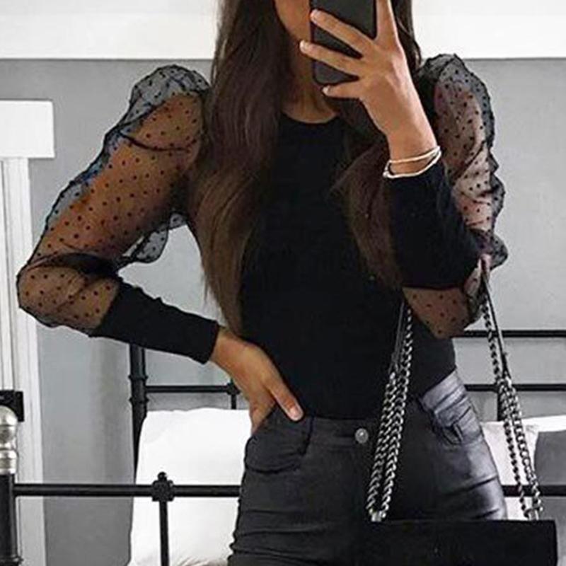Lovely Work Patchwork Black Bodysuit