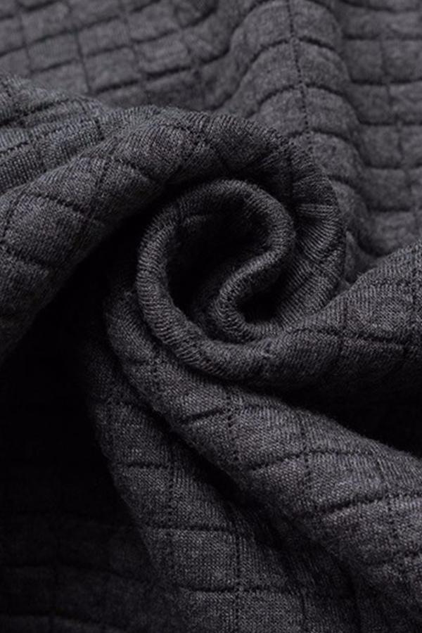 Lovely Casual Hooded Collar Dark Grey Hoodie
