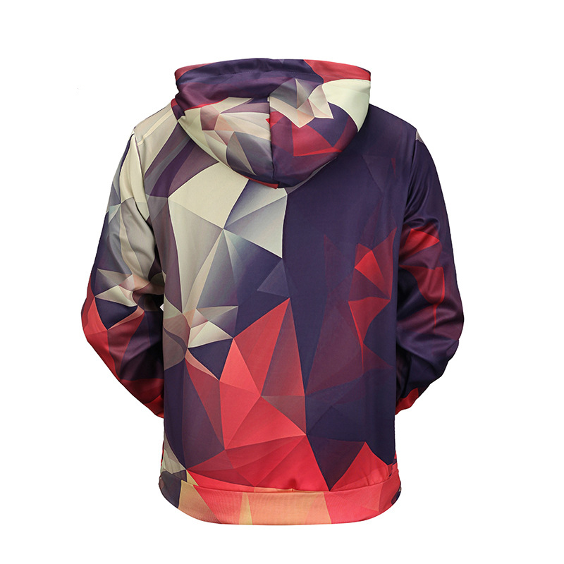 Lovely Casual Hooded Collar Multicolor Hoodie
