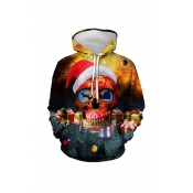 Lovely Halloween Printed Multicolor Hoodie