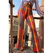 Lovely Casual Striped Multicolor Pants