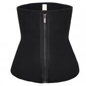 Lovely Sexy Zipper Design Black Intimates Accessor