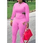 Lovely Trendy Hollow-out Pink One-piece Jumpsuit