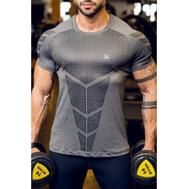 Lovely Sportswear Printed Grey T-shirt