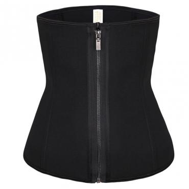 Lovely Sexy Zipper Design Black Intimates Accessories