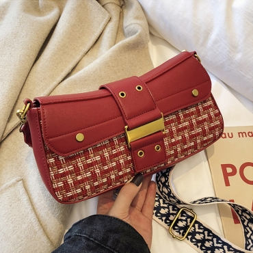 Lovely Fashion Red Messenger Bag