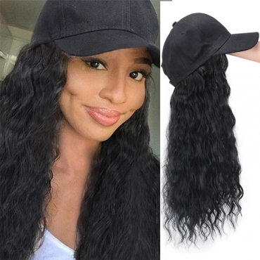 Lovely Sweet Cap Black Wigs