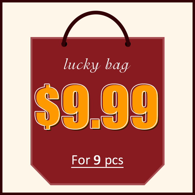 Lovely Lucky Bag - 9 pcs Random Products - Up to 90% off