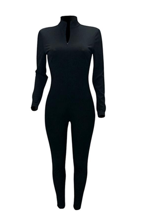 Lovely Trendy Skinny Black One-piece Jumpsuit