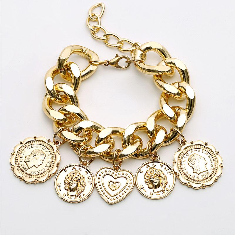 Lovely Trendy Gold Bracelet