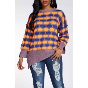Lovely Casual Dot Croci Sweater
