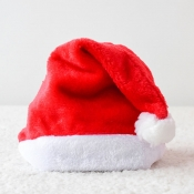Lovely Christmas Day Patchwork Red Hat