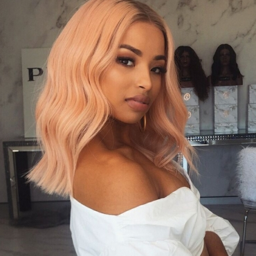 Lovely Street Curly Pink Wigs