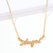 Lovely Chic Gold Alloy Necklace