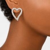 Lovely Vintage Wghite Crystal Earring