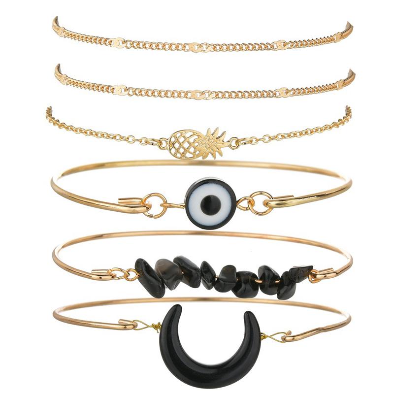 Lovely Bohemian Gold Bracelet
