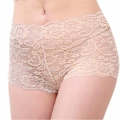 Lovely Sexy Lace Skin Color Panties