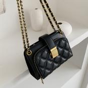 Lovely Vintage Black Crossbody Bag