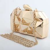 Lovely Vintage Gold Crossbody Bag