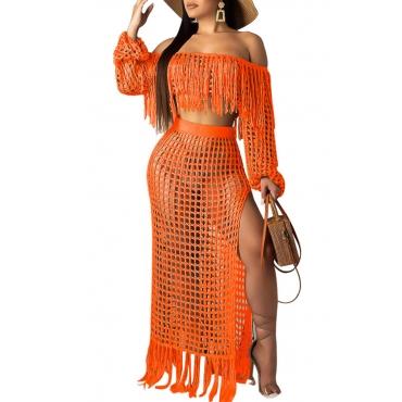 Lovely Hollow-out Croci Beach Dress