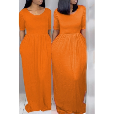 Lovely Leisure Loose Croci Maxi Dress