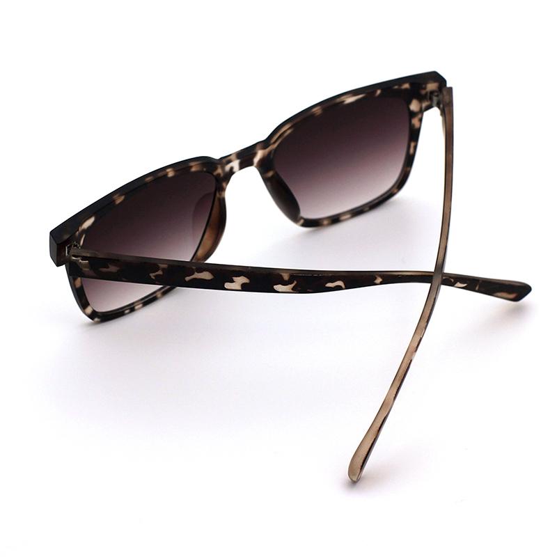 Lovely Stylish Print Black Sunglasses