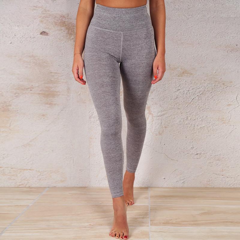 Lovely Sportswear Basic Skinny Grey Two-piece Pants Set