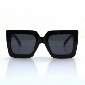 Lovely Chic Big Frame Design Black Sunglasses