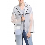 Lovely Fashion Couple EVA Environmental Raincoat T