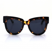 Lovely Chic Print Brown Sunglasses