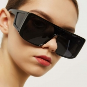 Lovely Trendy Big Frame Design Black Sunglasses