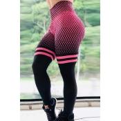 Lovely Sportswear Print Pink Pants