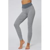 Lovely Sportswear Print Grey Leggings
