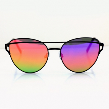 Lovely Chic Gradient Lens Multicolor Sunglasses