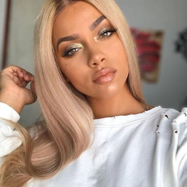 Lovely Chic Basic White Wigs