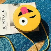 Lovely Sweet Cartoon Yellow Crossbody Bag